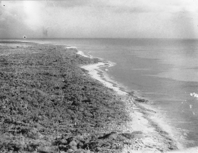 Jan. 1931 The Beach from the Light Station